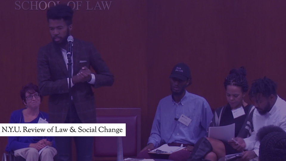 NYU: Review of Law and Social Change
