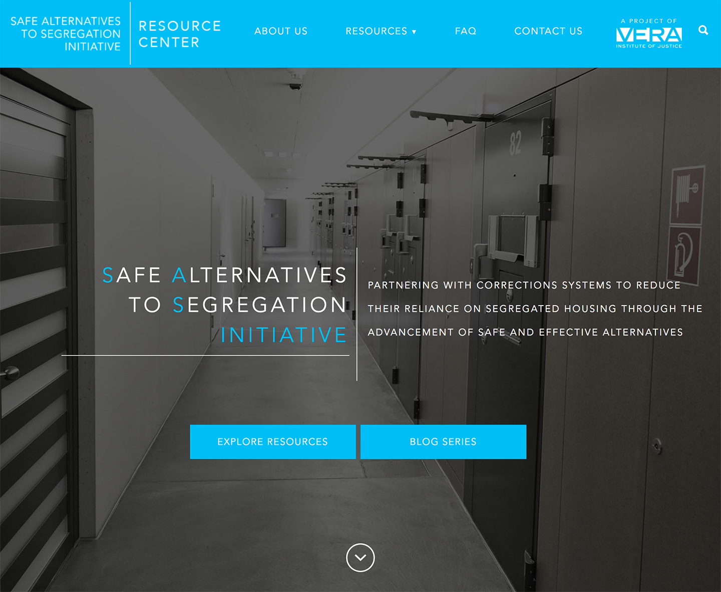 Vera Institute of Justice | Safe Alternatives to Segregation Resource Center: SASRC Homepage