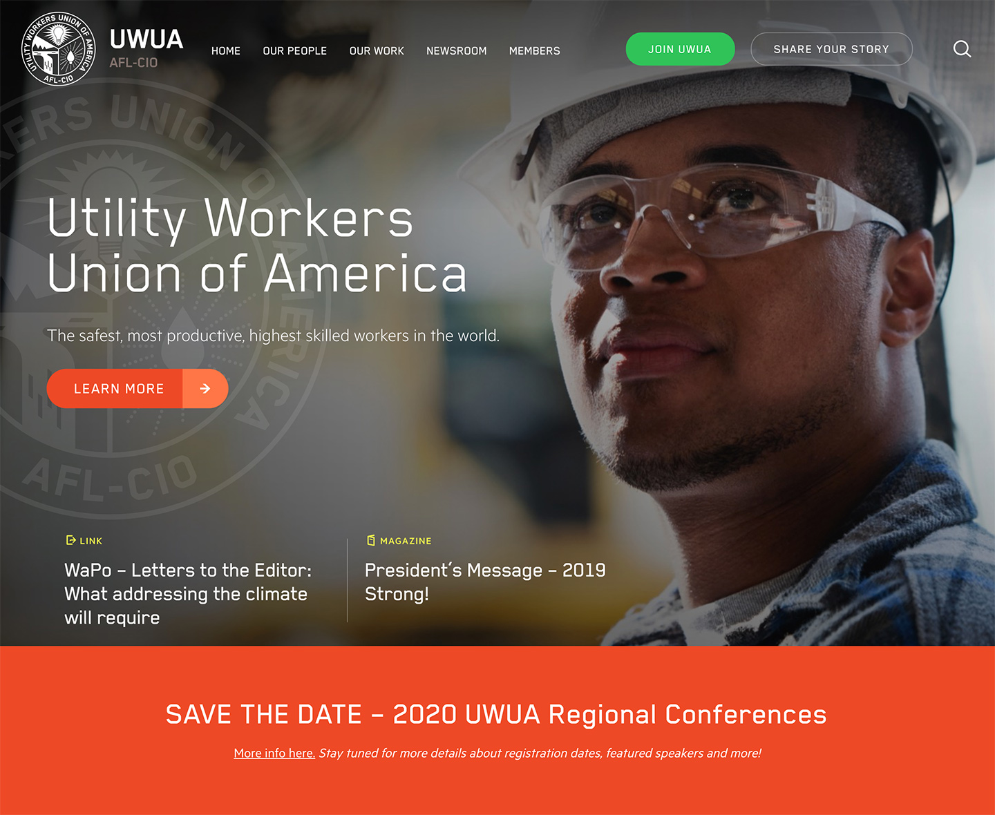 Utility Workers Union of America (UWUA): UWUA Utility Workers Union of America - Home