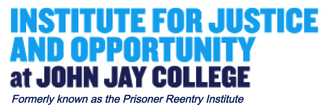 Institute for Justice and Opportunity (CUNY John Jay) Logo