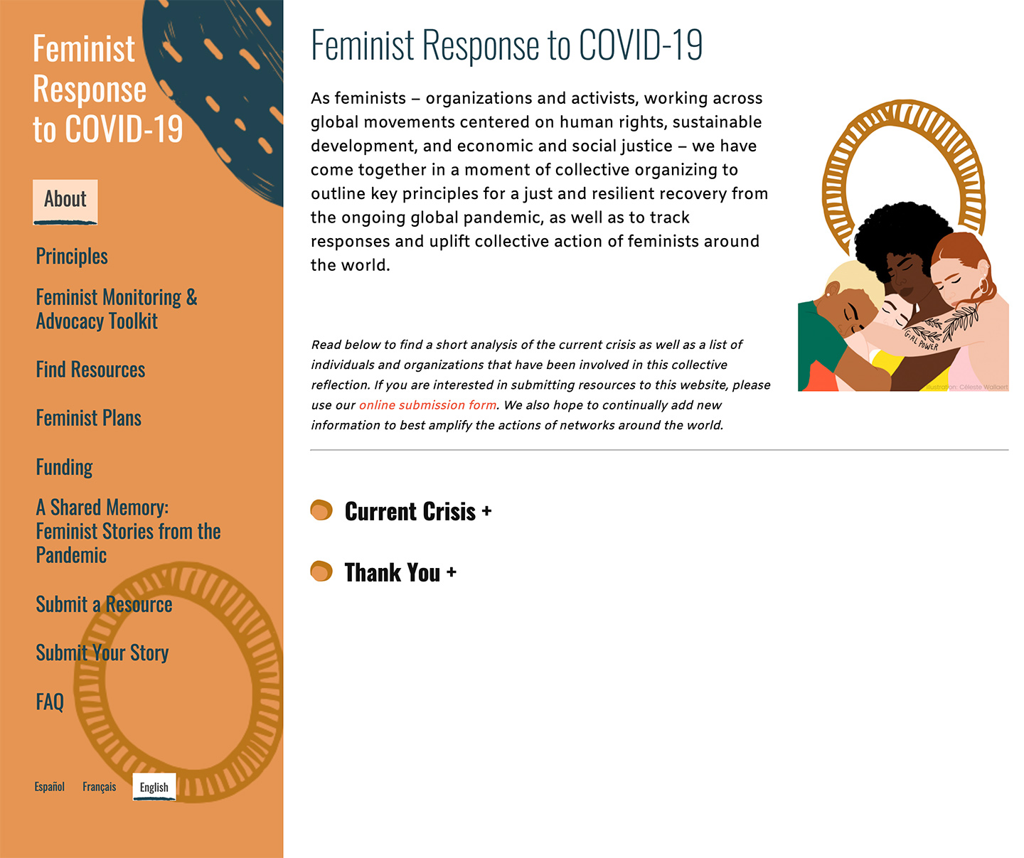 Feminist Response to COVID-19: Feminist Response to Covid-19 - Homepage