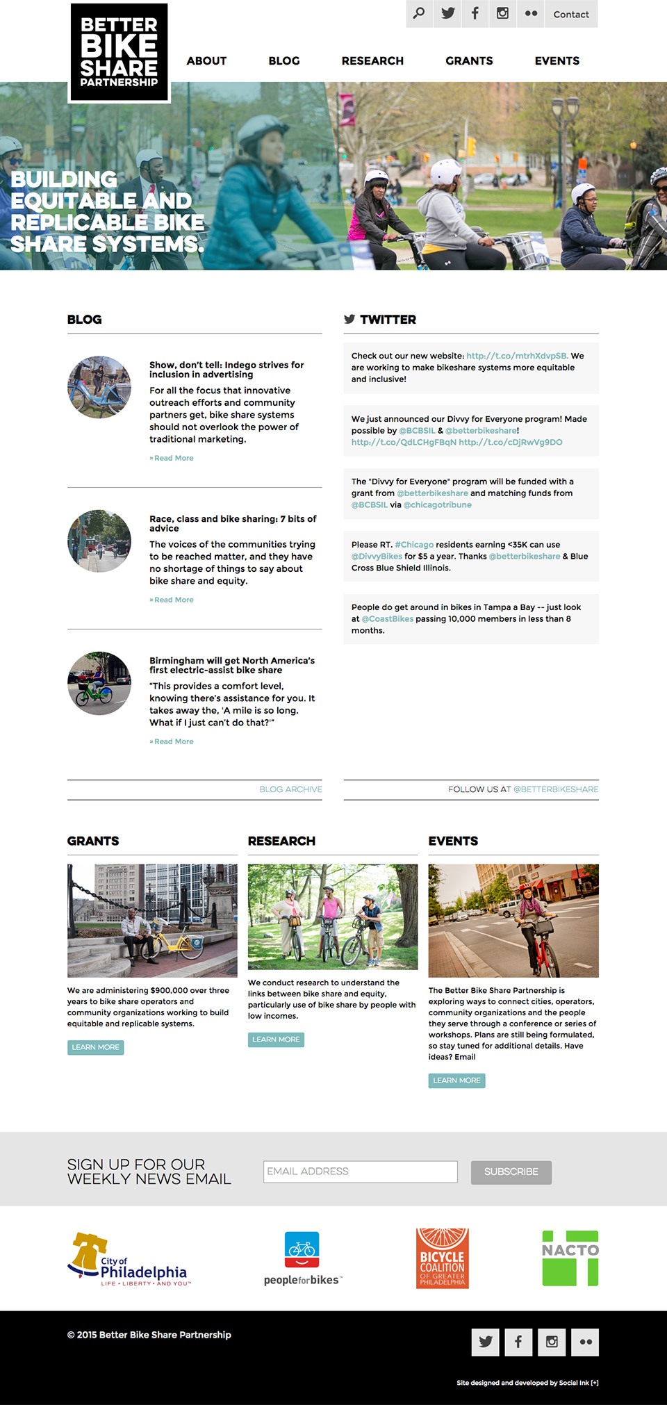 Better Bike Share Partnership: Better Bike Share Homepage