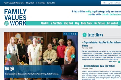 Family Values at Work: Homepage