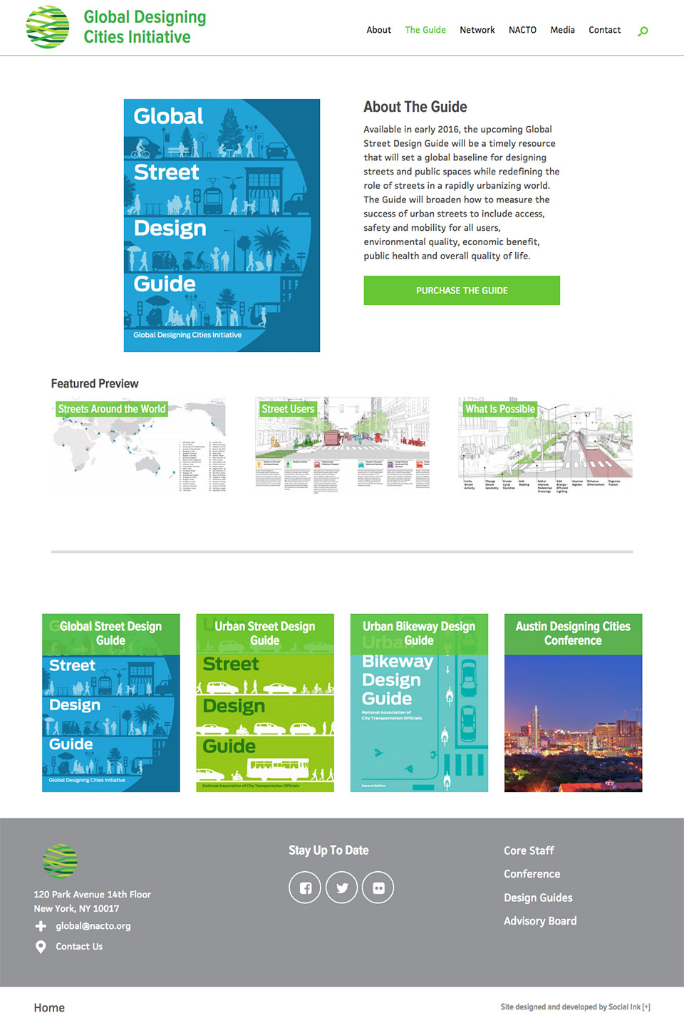 Global Designing Cities Initiative: Guide Purchase Page