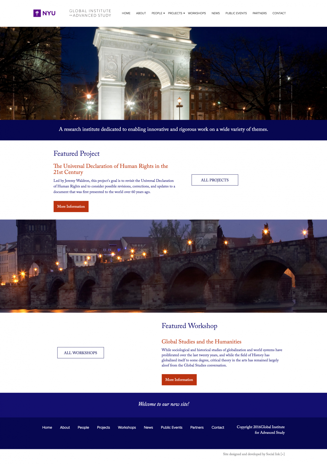Global Institute for Advanced Study NYU: Gias Homepage