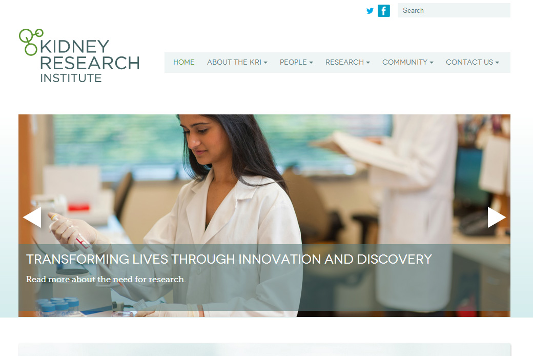Kidney Research Institute Homepage