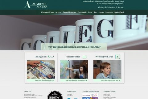 Academic Access Homepage