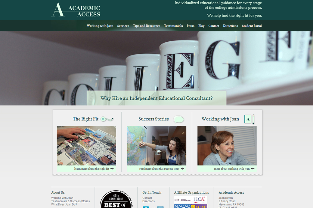 Academic Access: Academic Access Homepage