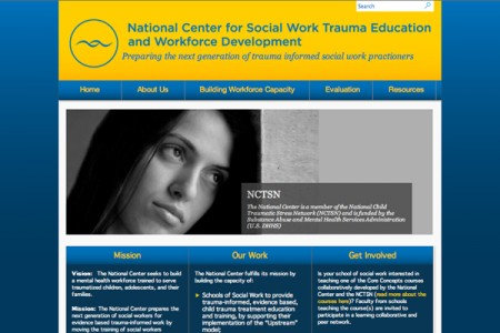 National Center for Social Work Trauma Education and Workforce Development Home