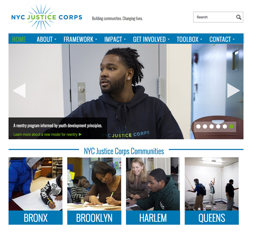 NYC Justice Corps: NYC Justice Corps Home Page