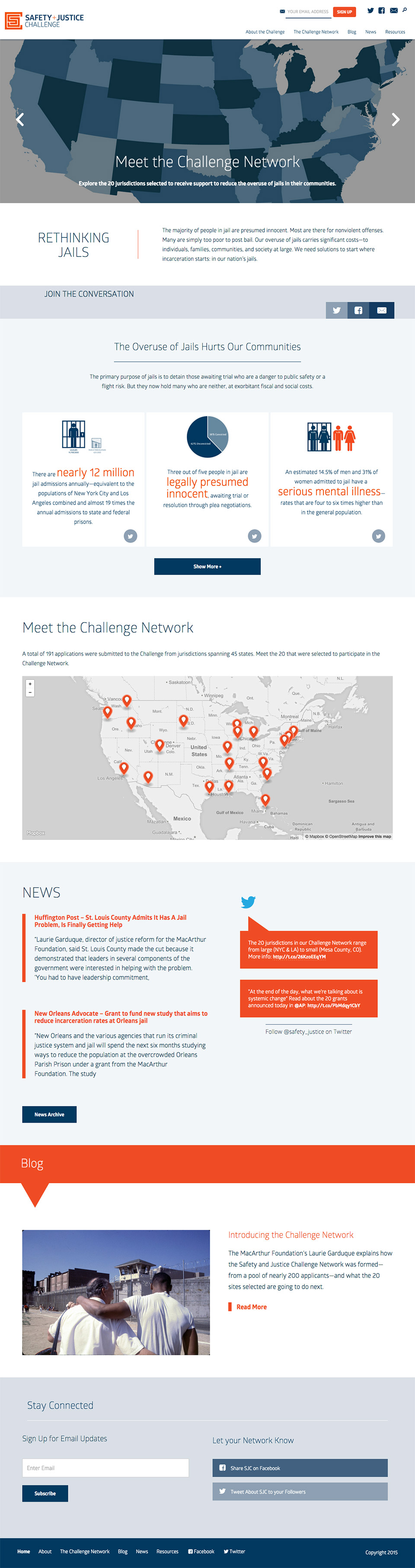 MacArthur Foundation Safety & Justice Challenge: Safety + Justice Challenge Homepage