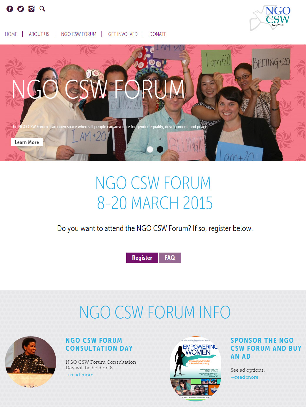 The NGO Committee on the Status of Women, NY (NGO CSW): NGO Committee on the Status of Women  NY