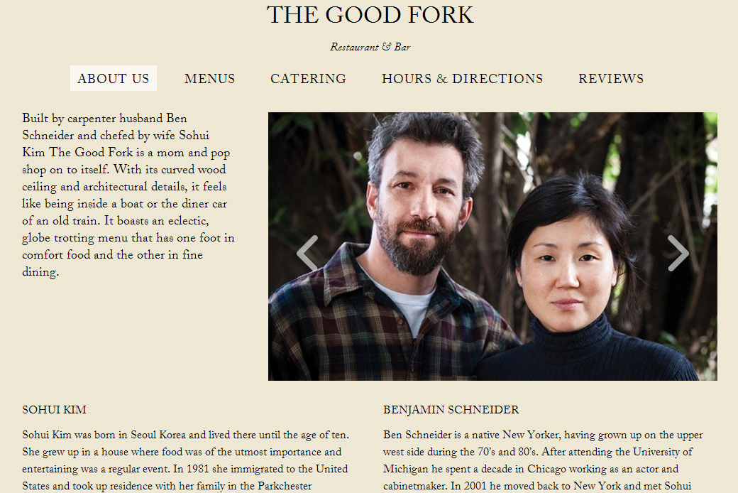 The Good Fork: reviews | the good fork brooklyn