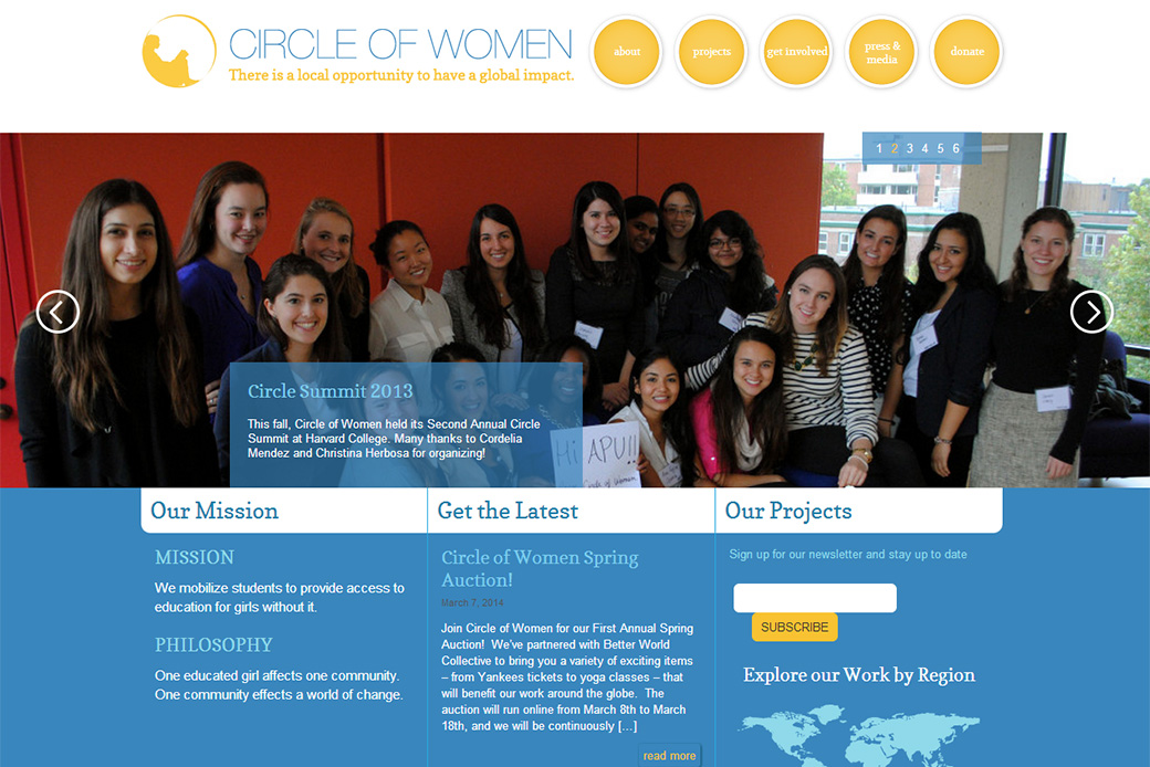 Circle of Women - Home