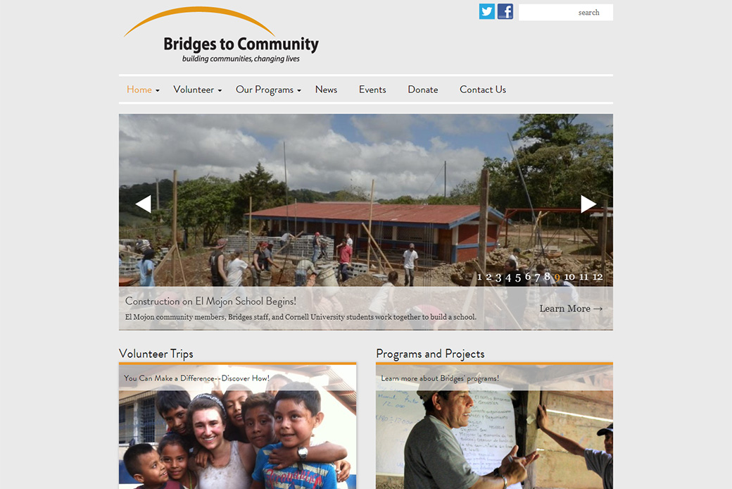 Bridges to Community: Bridges to Community Homepage