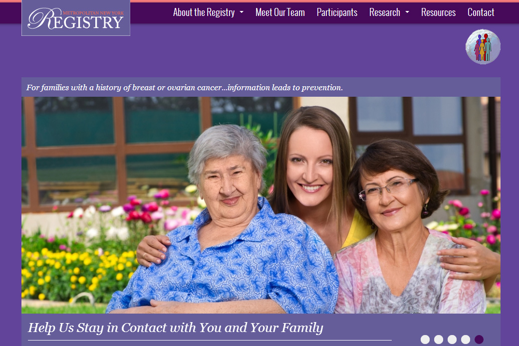Metro NY Registry (Columbia University): Metro NY Registry Homepage