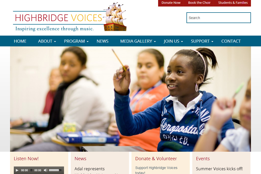 Highbridge Voices: Highbridge Voices - Homepage