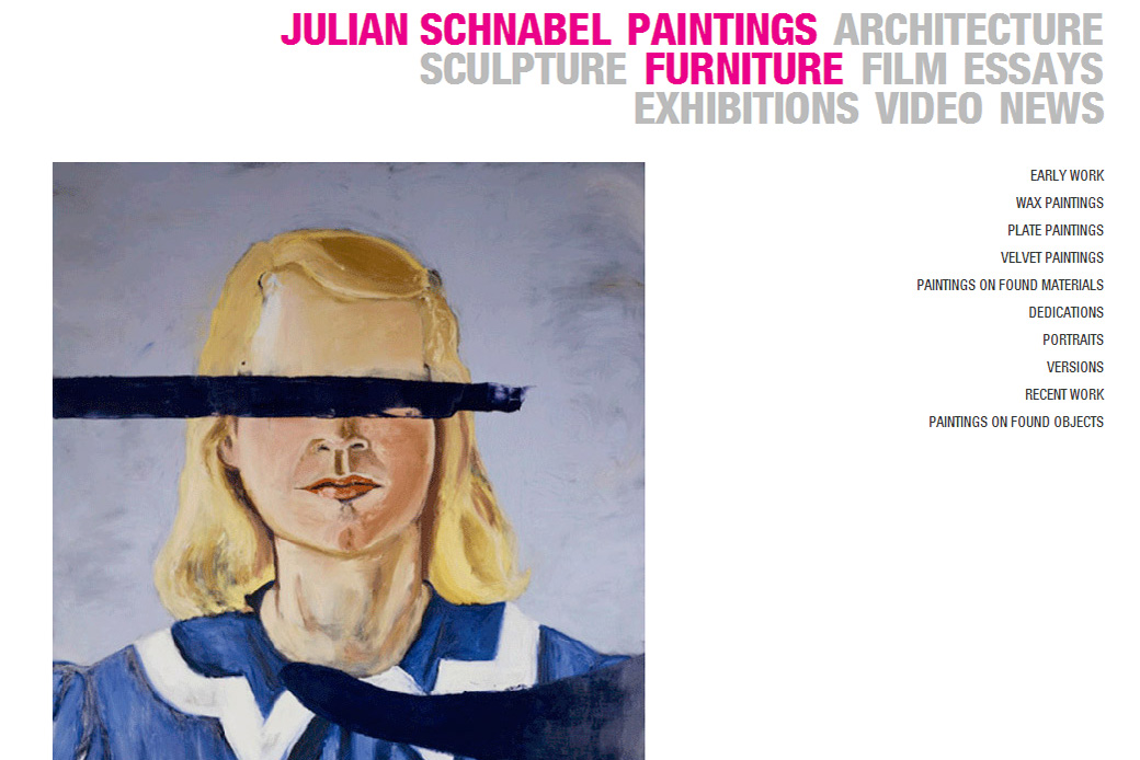 Julian Schnabel: Julian Schnabel Paintings
