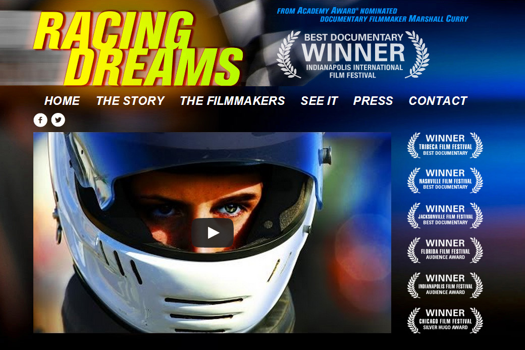 Racing Dreams Homepage