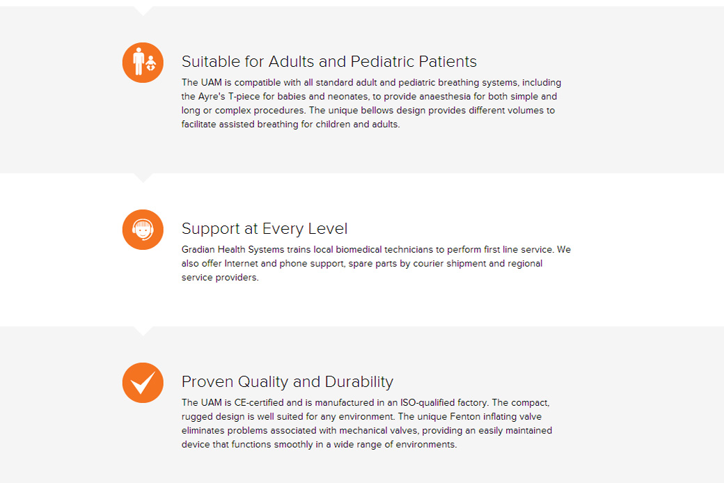 Gradian Health Systems Features