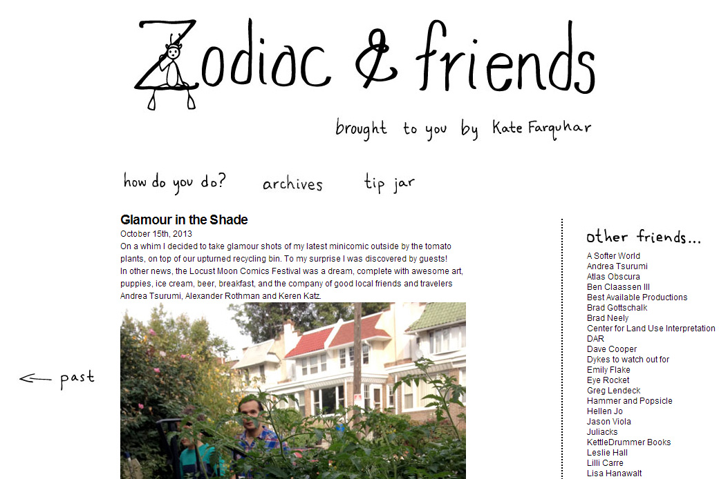 Zodiac and Friends: Zodiac and Friends Home