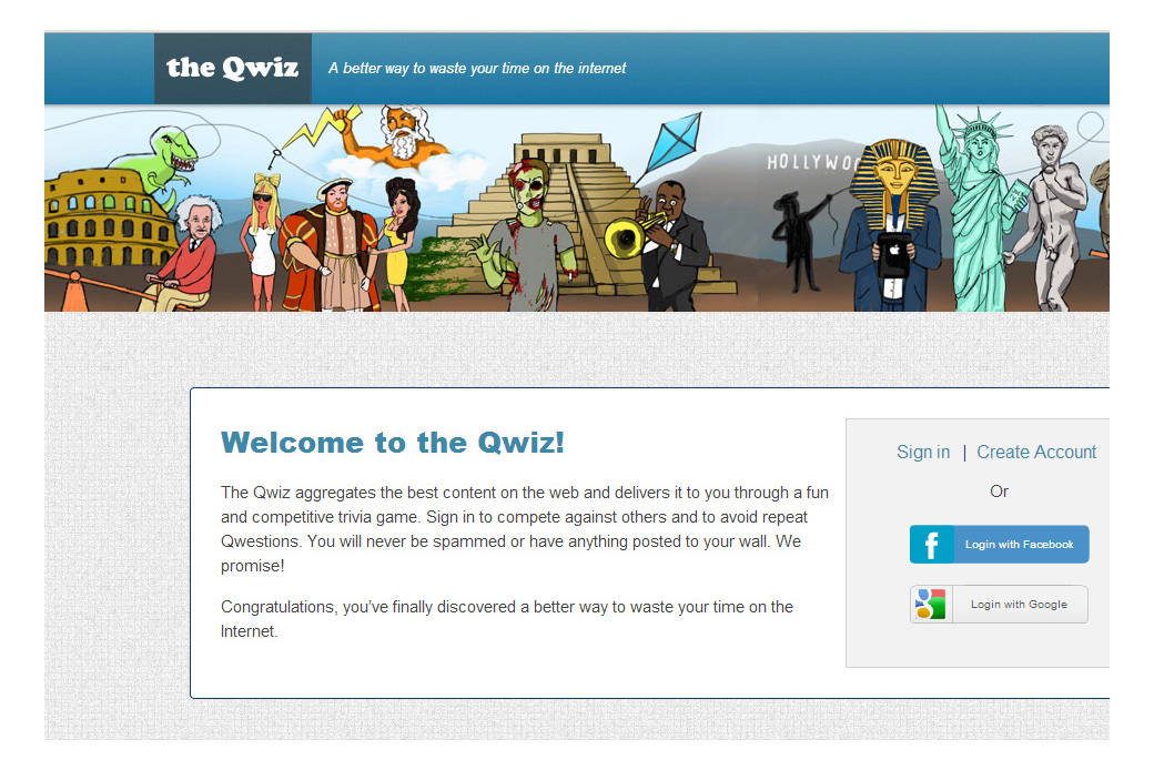The Qwiz: The Qwiz Home Page