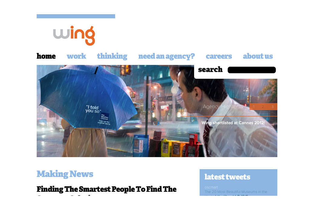 Wing Homepage