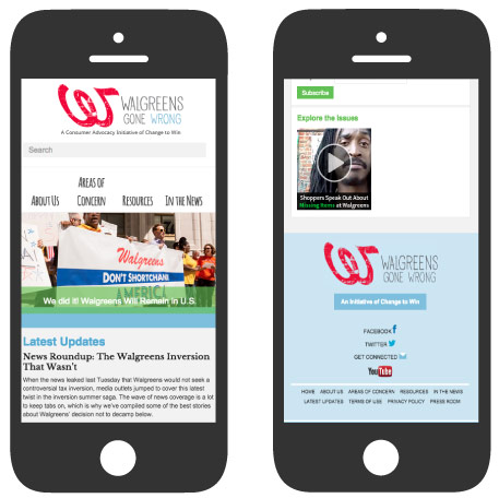 Walgreens Gone Wrong: Mobile Responsive Design (RWD)