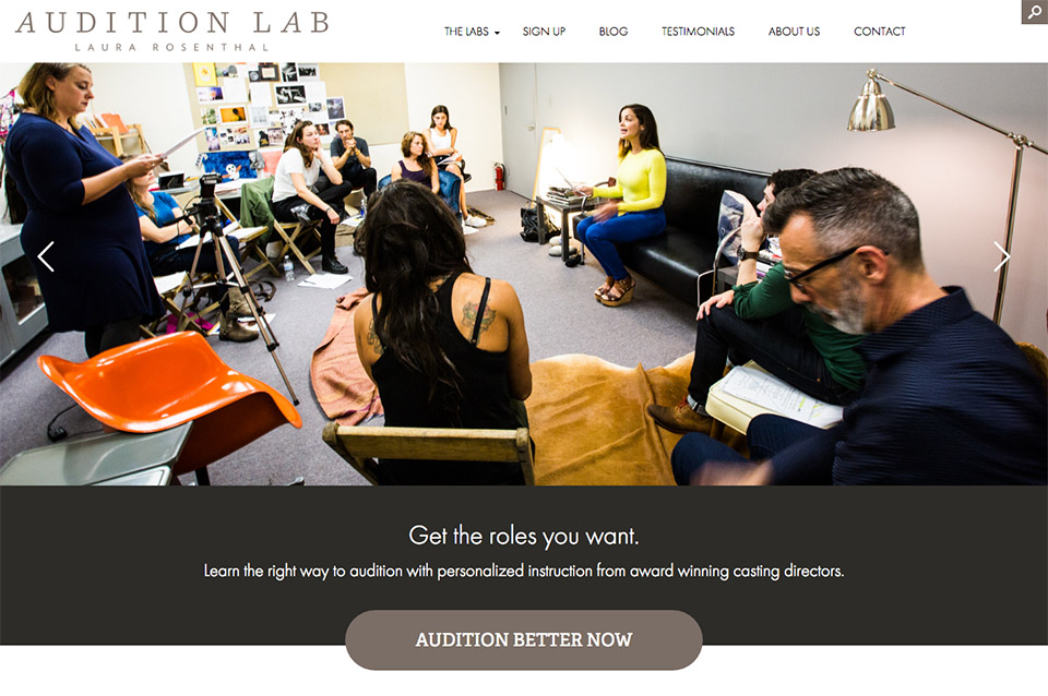 A New Site for Laura Rosenthal Audition Lab