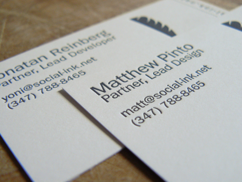 New Business Cards are In!