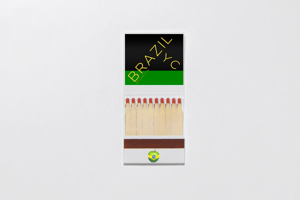 Brazil NYC: Brazil NYC Matchbook Application