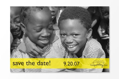 The Building Fund Save the Date
