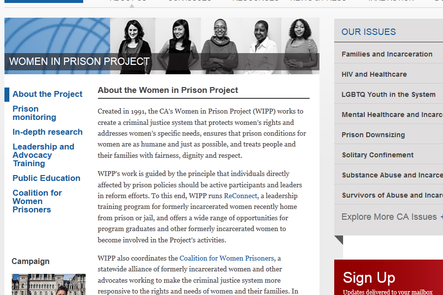 Correctional Association of New York: Correctional Association Women in Prison Project