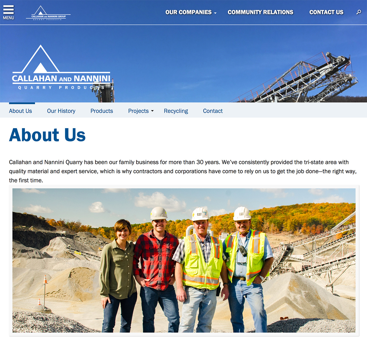 Callahan and Nannini Group: Callahan and Nannini Group About Us