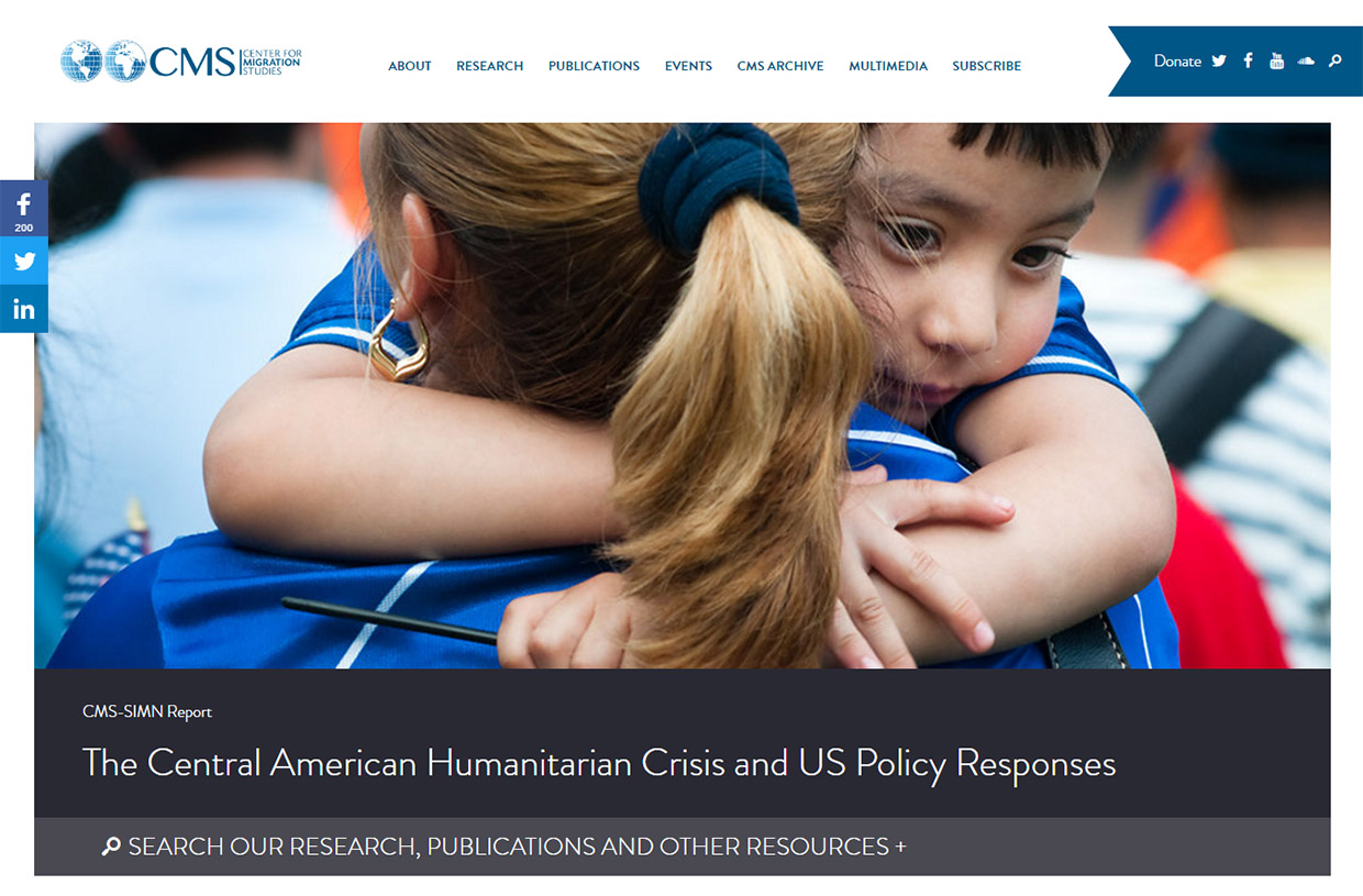CMSNY: Center for Migration Studies: CMS Homepage