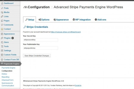 Advanced Payment Engine WordPress - Setup