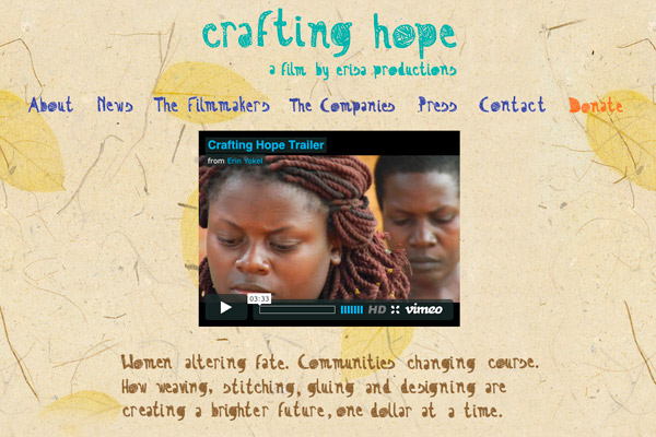 Crafting Hope the Movie