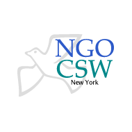 The NGO Committee on the Status of Women, NY (NGO CSW) Logo