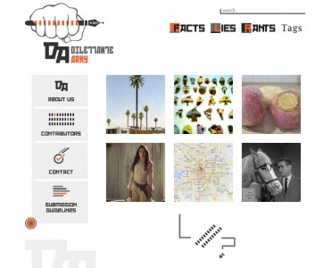 Dilettante Army - Websites for online magazines