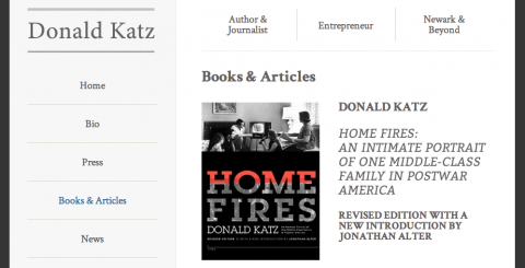 Donald Katz: Homepage - Websites for Creatives by Social Ink
