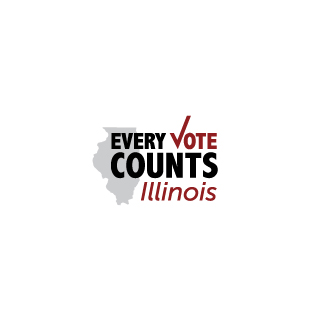 Every Vote Counts Illinois Logo