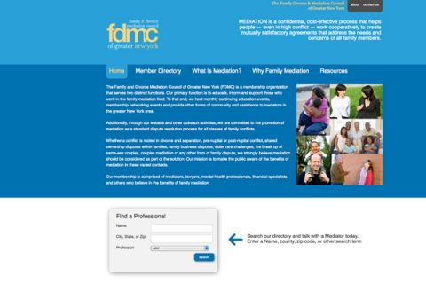 FDMC website by Social Ink