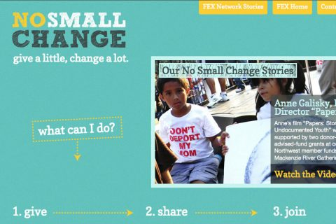FEX No Small Change Microsite Home