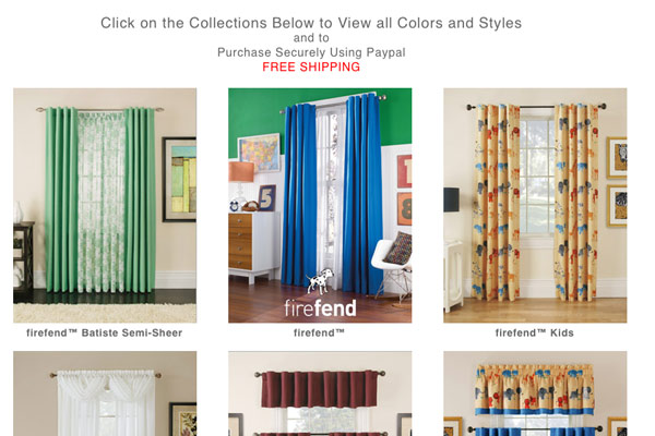 Firefend Curtains: Firefend Curtains Gallery