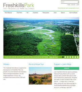 Freshkills Park Alliance: Homepage