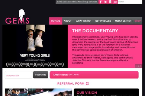 Girls Educational and Mentoring Services (GEMS) Homepage