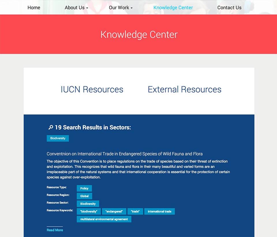 IUCN Global Gender Office: Knowledge Center Search Results