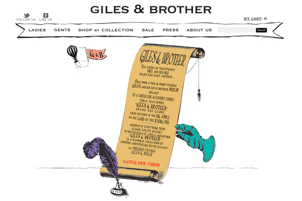 Giles and Brother: Giles and Brother About