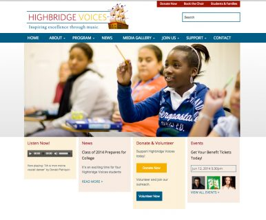 Highbridge Voices - Homepage