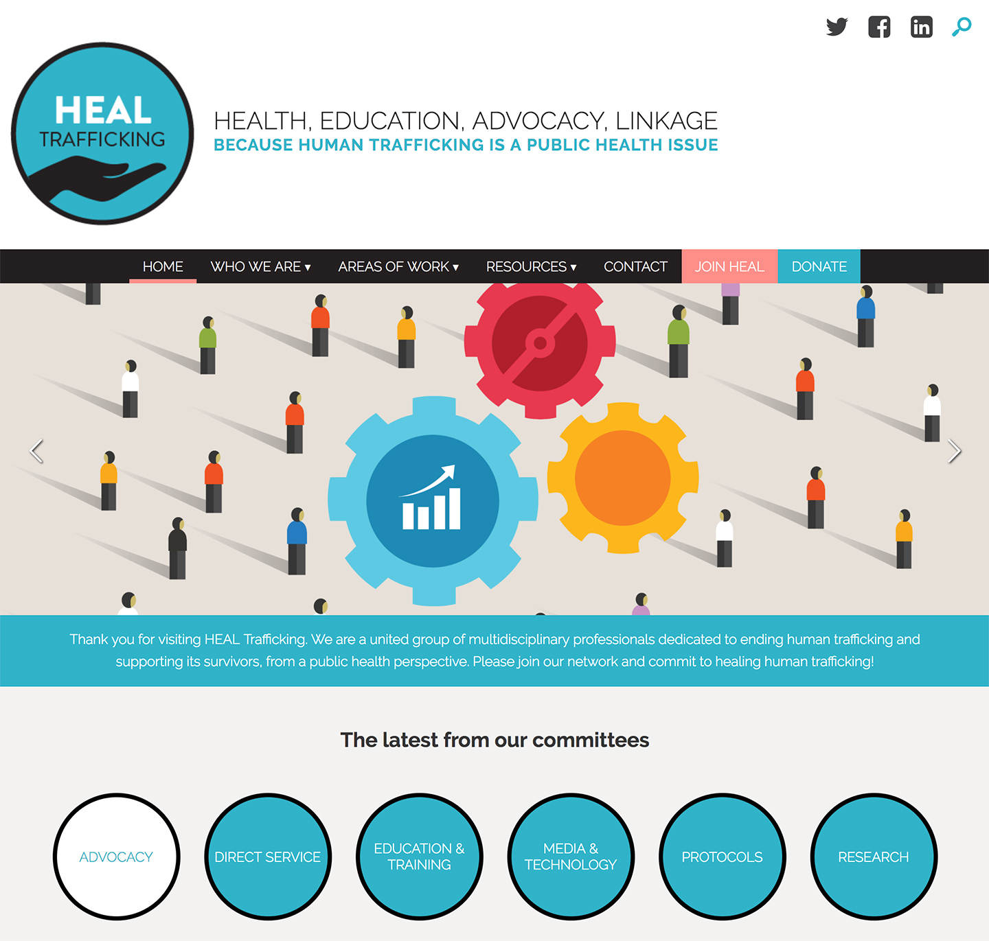 HEAL Trafficking: HEAL Homepage
